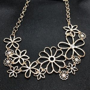 Loft Floral Statement Necklace
